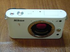 PLEASE READ FIRST - Nikon 1 J1 One - WHITE Camera BODY ONLY - Nothing Else