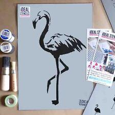 Flamenco Estarcido Decoración Hogar Pintura Reutilizable Pared Arte Craft Ideal