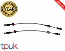 BRAND NEW FORD TRANSIT 2.0 GEAR CHANGE MK6 CABLE FWD PAIR CABLES GREY BLUE