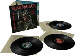 IRON MAIDEN - SENJUTSU (3 LP VINILE NERO) NUOVO SIGILLATO