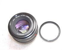 Fast MINOLTA  MD 50mm Prime 1:1.7 SLR Camera LENS+Skylight Filter