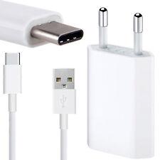 2 in 1 Set USB Ladegerät Ladekabel USB Typ-C Kabel Datenkabel Netzteil Adapter