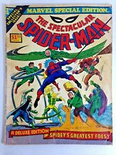 Spectacular Spider Man Marvel Special Edition No 1 1975 Stan Lee Spidey Comics