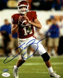 Oklahoma Sooners Sam Bradford Signed 8x10 Photo James Spence JSA Sticker Only