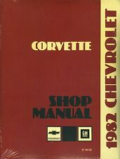 1982  CORVETTE SHOP MANUAL