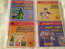 BABY GENIUS 4 CDs: Brain Power/Best of IQ Builder/Night Classics/Infant Learning