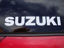 "SUZUKI Decal Sticker GSXR SV GSR V-Strom GSF Tank Pad Fairing Emblem 9"" X 1.5"""