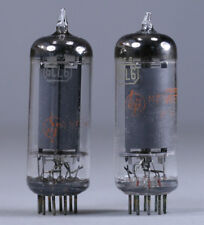 2 pc 6CL6 Pentode Vacuum Tubes RCA / HP ~ Tested Strong
