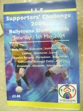 2004 Ilf Supporter Le défi de Ballymena Showgrounds, 15th mai