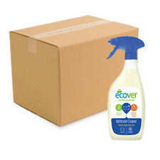 Case of 6 x Ecover Bathroom Cleaner Spray 500ml Tough on Soap Scum and Dirt