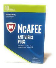 McAfee 2017 Antivirus for 10 Devices For PC or MAC Also Tablets and Smartphones