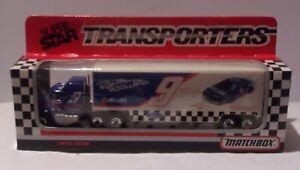 KKar Matchbox/WR - 1990/91 Super Star Transporter - Mack CH600 - Blue - Melling