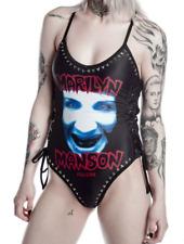 KILLSTAR Marilyn Manson Sexy Organ Grinder One Piece Bathing Suit SZ L NWT