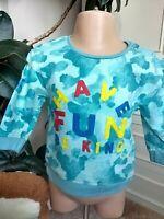 Fearne Cotton~Baby Boy's Jumper~ Fun Long Sleeve Top~Sweatshirt~NEW!!~6-9 Months
