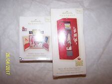 High School Musical Set 2 play music Hallmark Keepsake Ornaments in Orig boxes