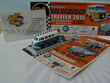 "Brekina - Volkswagen T1b Kombi "" VW Club Rhein Neckar - Mannheim 2015 "" Lim. 150"