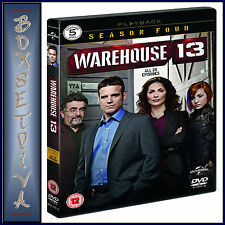 WAREHOUSE 13 - COMPLETE SEASON 4  **BRAND NEW DVD **