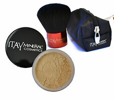 Itay Mineral Cosmetics 2x Foundations  MF-1 Cream Marfil +Premium Kabuki