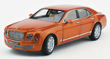 Minichamps 2010 Bentley Mulsanne Orange Flame 1:18 *Almost Sold Out* Last Pcs!!