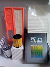 KIT TAGLIANDO 4 FILTRI + OLIO SELENIA  FIAT PUNTO (188A9000 ) 1.3 MULTIJET 2005>