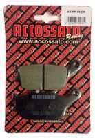 Pastiglie Accossato Posteriori Organica Honda CBR600RR CBR 600 RR 2003 2004 2005