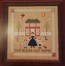 Primitive OOP Designs By Charlotte Pattern/Leaflet God Bless Our Home Sampler