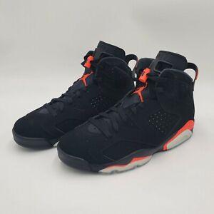 Mens Nike Air Jordan 6 Retro Black Infrared (2019) Size 10 384664-060