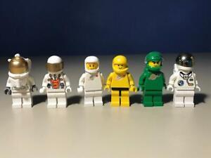 5 Lego Classic Space Figuren Unitron Chief Minifig Astronaut Weltraum S27