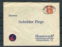 Bahnpostbeleg DR 12 Pfg. EF München-Hannover - b5230