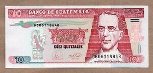 GUATEMALA - 10 QUETZALES - 17.1.2007 - P111b - UNCIRCULATED
