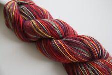Flotte Socke 4 fach -  60%Wolle/20% Alpaka/20%Polyamid handgefärbt FB1313 100g