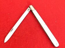 "Case XX USA 1971  4100 polished stainless melon tester 5.5"" knife   mint"