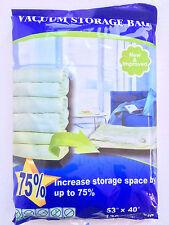 "Super Size Vacuum Seal Storage Bag 53""X40"""
