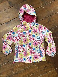 Trespass Girls Waterproof Jacket 3-4 Years Floral Coat Hood
