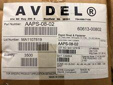 AVDEL (AAPS-08-02) - DOME HD BLIND RIVET - ALUM./ALUM. 1/4 X .063 -.125 GRIP