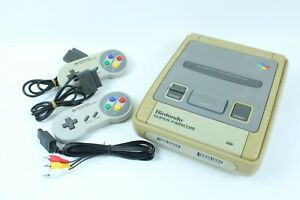 Nintendo Super Famicom Game Console SHVC-001 Japanese tested working