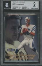 1998 Flair Showcase Row 3 #3 Peyton Manning RC Rookie Mint BGS 9