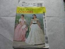 McCall's Pattern #3597 Uncut FF Sz Misses 12-18 Southern Belle Dress Costume