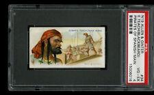 N19 Allen & Ginter Pirates of Spanish Main Edward Teach Blackbeard #34 Psa 4