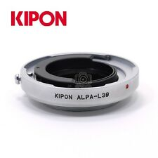 Kipon Adapter for Alpa Kern MACRO-SWITAR 50mm 1.8 Lens to Leica M39 L39 Camera