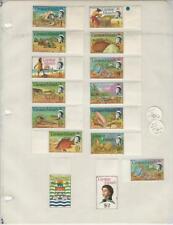 Cayman Islands Collection 1974-75, #331-345 Mint LH Set, Fish, Pirates