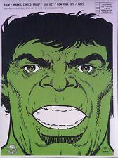 Vintage Reprint - Foom - Friends Of Ol' Marvel Club Kit - Hulk Mailer Only