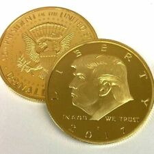 2017 Rare US President Donald Trump Republican Gold Eagle Collection Gift Coin
