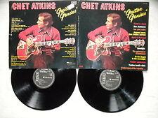 "2 LP CHET ATKINS ""Guitar Genius"" RCA FJL2 7190 FRANCE §"