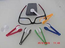 NEW !!! -Lunettes kit de Nettoyage pince Microfibre Lunettes / écrans