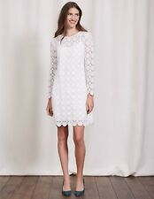 BODEN NWT Floral Lace Dress - Ivory - UK 10 L - 2017