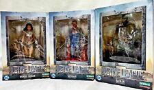 Kotobukiya Justice League Movie Wonder Woman Superman Batman ArtFx+ Lot
