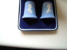 £49.........PRINCESS DIANA/PRINCE CHARLES WEDGWOOD JASPER THIMBLES BOXED