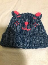 RRP £12 Next Baby Girl Cat Hat 3-9 months