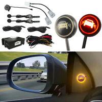 Car Blind Spot Monitoring Detection System Ultrasonic Sensor Distance Assist NEW